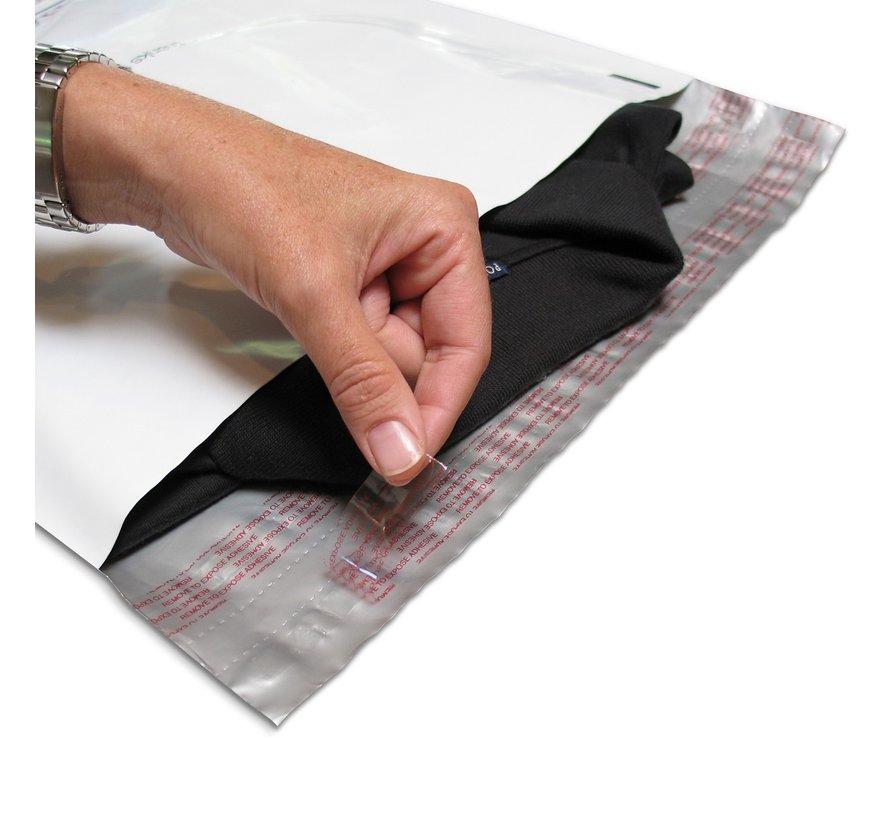 Verzendzakken coex - 23 x 33 cm - Doos met 1000 verzendzakken - Met dubbele plakstrip en tearstrip voor retour