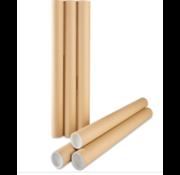 Ronde verzendkokers - 425mm diameter 60mm - (bundel 25 stuks)