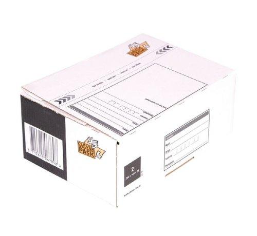 Cleverpack verzenddoos (146x131x56) - Postpakket