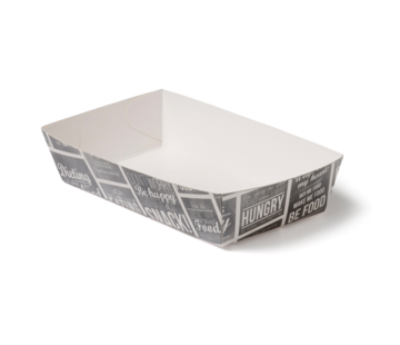 Snackbakje karton - Pubchalk 120 x 70 x 35 mm
