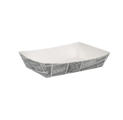 Snackbakje karton A50 - Pubchalk 200 x 140 x 38 mm - 400 stuks / €0,10 per stuk