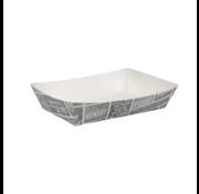 Snackbakje karton A50 - Pubchalk 200 x 140 x 38 mm