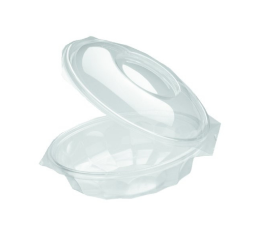 Saladebowl transparant - Saladeschaal Ø 150 mm 375 ml - 300 stuks / €0,18 per stuk