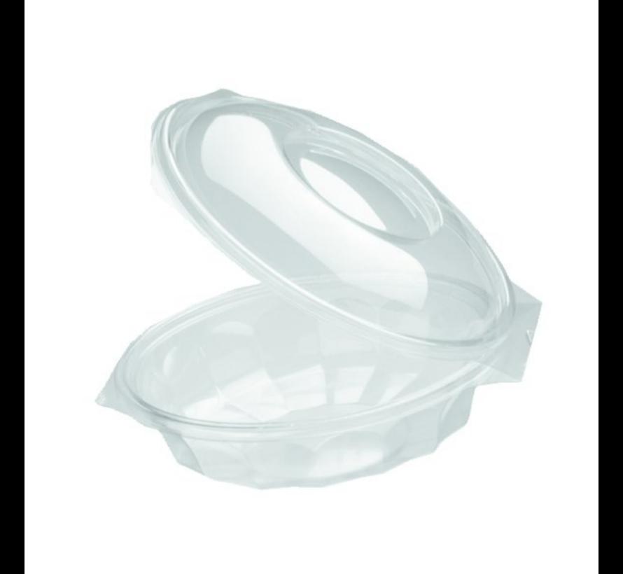 Saladebowl transparant - Saladeschaal Ø 150 mm 500 ml - 300 stuks / €0,19 per stuk