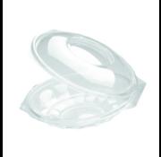Saladebowl transparant - Saladeschaal Ø 190mm 500 ml - 225 stuks / €0,23 per stuk