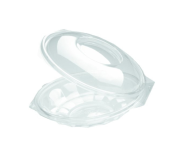 Saladebowl transparant - Saladeschaal Ø 190mm 500 ml