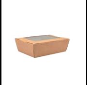 Maaltijdbox met Venster 140 x 85 x 45 mm