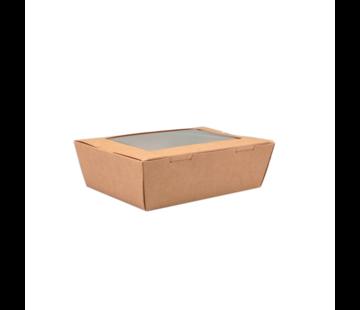 Maaltijdbox met Venster 150 x 100 x 45 mm - 200 stuks / €0,16 per stuk