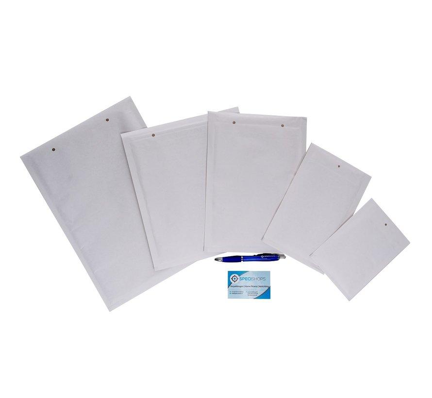 Luchtkussen enveloppen D - Bubbelenveloppen 180 x 265 mm A5+  - Doos met 100 enveloppen