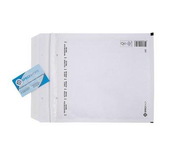 Luchtkussen enveloppen E15 - Bubbelenveloppen 220 x 265 mm  - Doos met 100 enveloppen