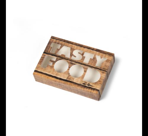 Cateringdoos Tasty Food - 55 cm Krimp