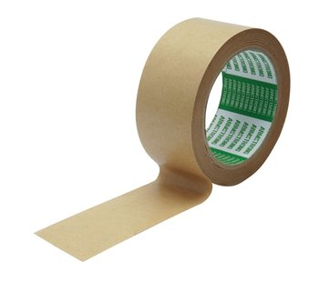 Papiertape - 50 mm x 50 m - Doos 36 rollen - Kern 76 mm