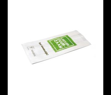Snackzak Lekker Duurzaam - Snack zakje 330 x 160 mm