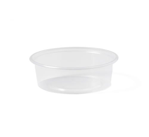 Sausbakje - 50 ml transparant - 1000 stuks / €0,014 per stuk