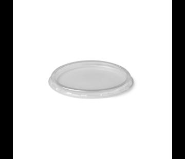 Deksel rond transparant - Ø70.3mm - 1000 stuks / €0,010 per stuk
