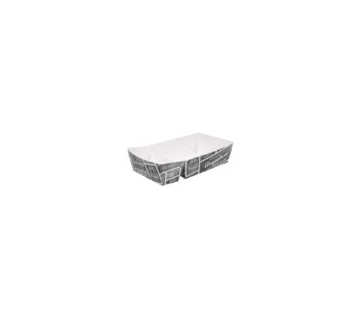 Snackbakje karton - Pubchalk 145 x 85 x 35 mm - 300 stuks