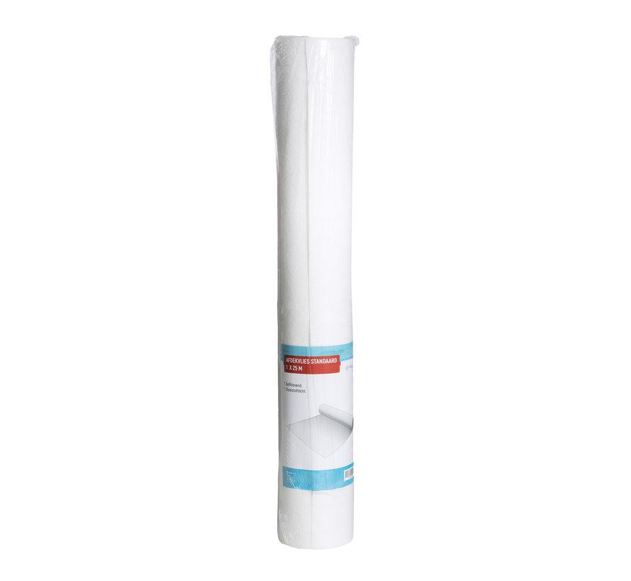 Afdekvlies Standaard 1 m x 25 m - Zelfklevend en Vloeistofdicht Vloerbescherming