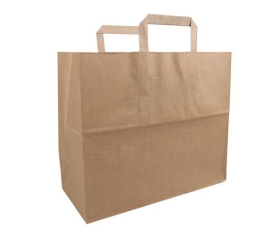 Biodore papieren draagtas Bruin 32 x 17 x 27 cm