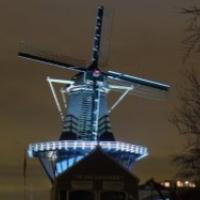 Led verlichting molen