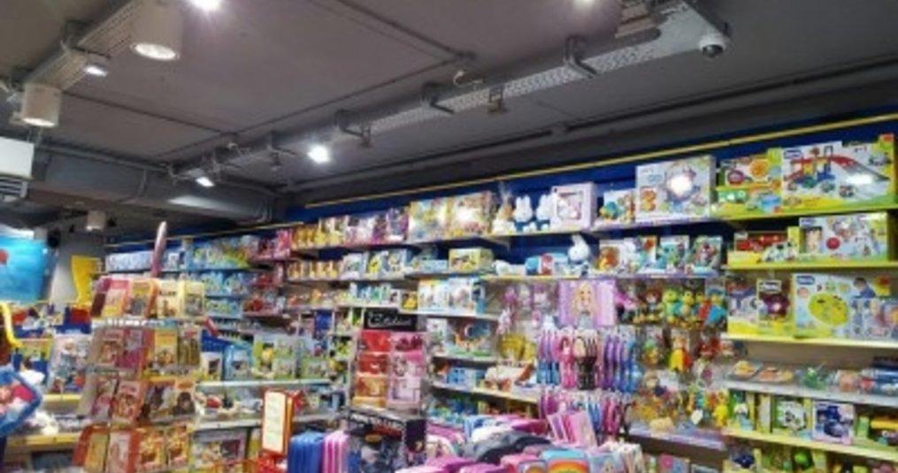 LED bouwlampen gebruikt voor winkelverlichting