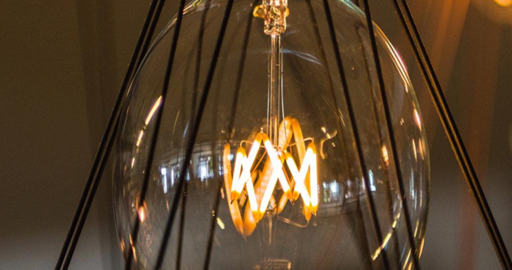 LED Gloeilampen hebben een laag energieverbruik
