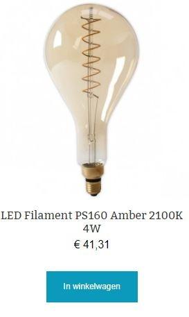 Led filament PS160