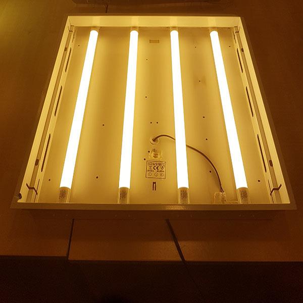 armatuur met 3000K LED verlichting