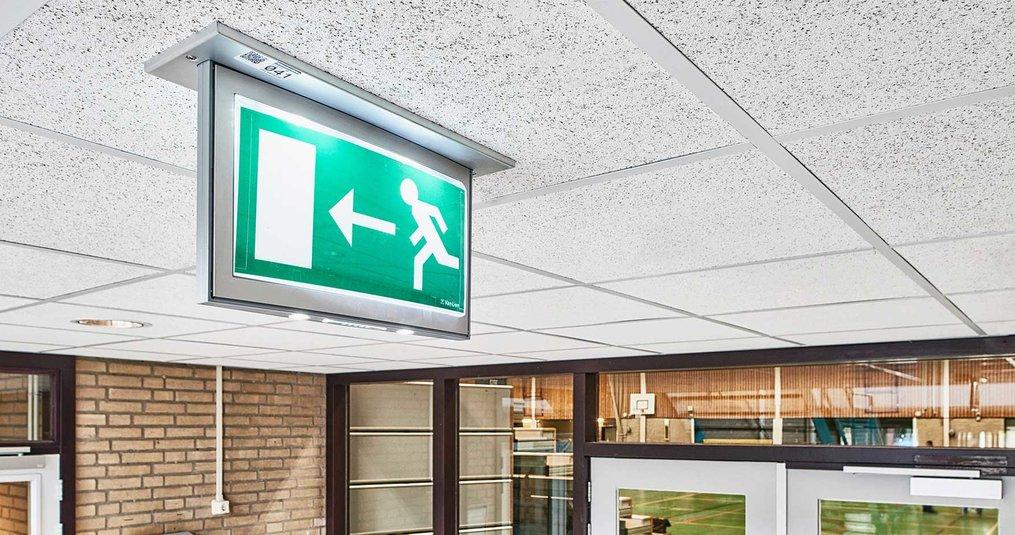 LED noodverlichting monteren in 2 stappen