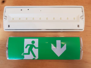 Pictogram LED noodverlichting