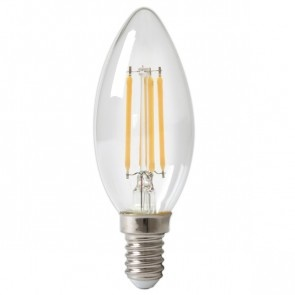 LED Filament B35 E14 2700K 3,5W Dimbaar