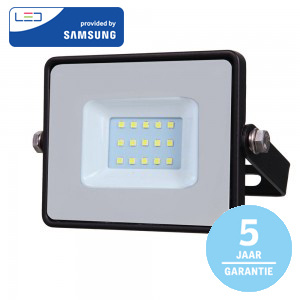 10W LED bouwlamp zwart van Specilights