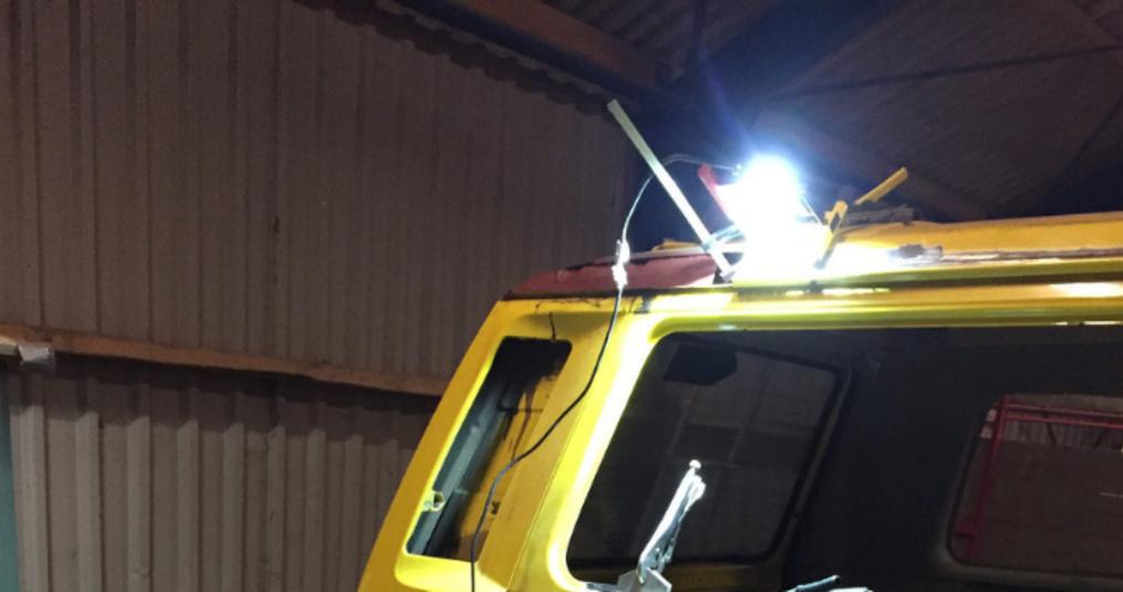 10W LED bouwlamp voor restauratie