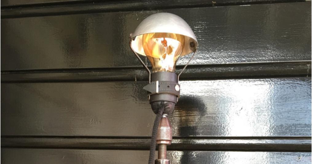 Led filament lamp voor een boormachinelamp