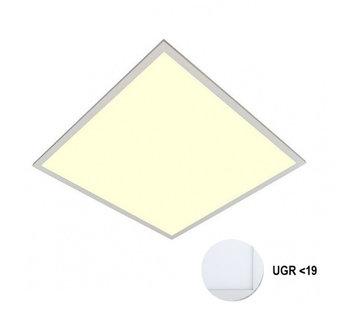 Specilights LED Paneel 60x60cm UGR19 40W 3000K Premium 120Lm/W High Lumen - 5 Jaar Garantie - Flikkervrij inclusief Stekker