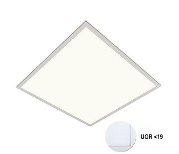 Specilights LED Paneel 60x60cm UGR19 40W 4000K Premium 120Lm/W High Lumen - 5 Jaar Garantie - Flikkervrij inclusief Stekker