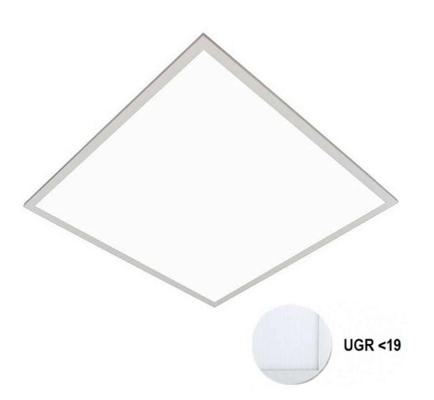 LED Paneel 60x60cm UGR19 32W 6000K Premium 120Lm/W High Lumen - 5 Jaar Garantie - Flikkervrij inclusief Stekker