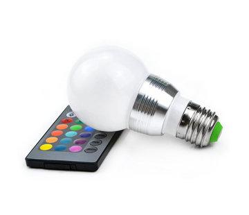 5W RGB LED Lamp E27