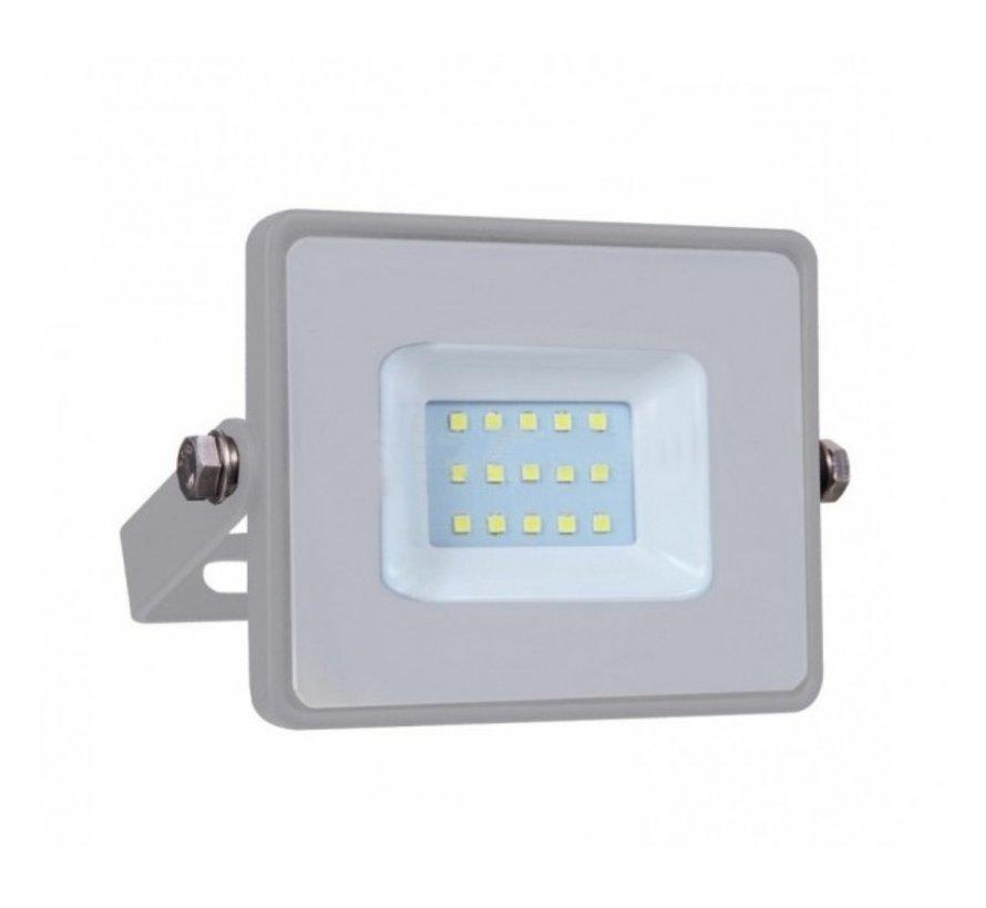 10W LED Bouwlamp Grijs - Waterdicht IP65 - 5 jaar garantie