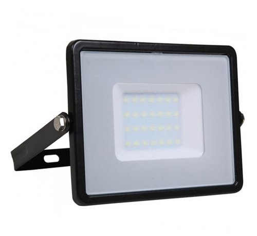 Specilights 30W LED Bouwlamp Zwart - 2400 Lumen - 3000K - Waterdicht IP65 - 5 jaar garantie