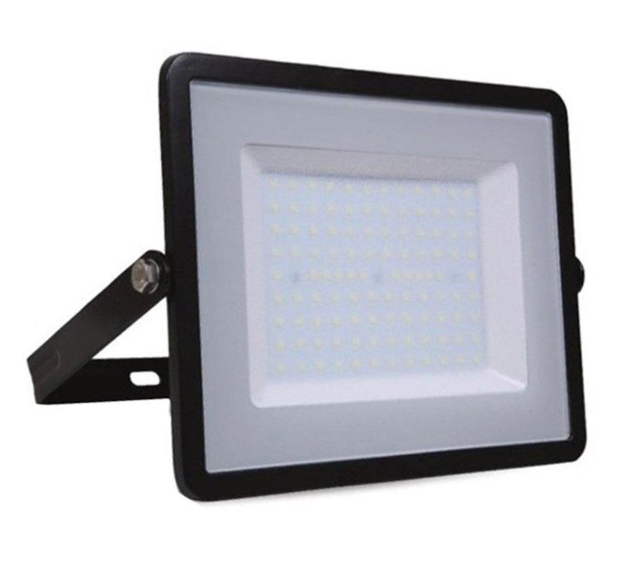 100W LED Bouwlamp Zwart - 10000 Lumen - 4000K - Waterdicht IP65 - 5 jaar garantie