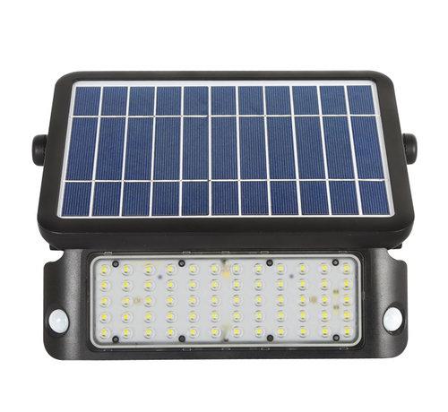 10W LED Solar Bouwlamp met Sensor - Bewegingssensor, Lichtsensor en Zonnepaneel