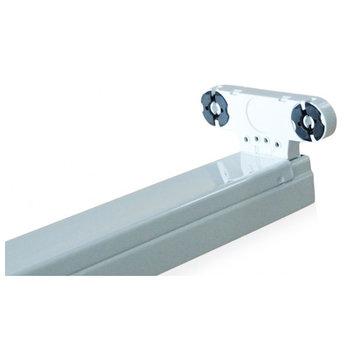 Specilights LED TL armatuur dubbel 150 cm opbouw - Kant en klaar voor twee led tl buizen