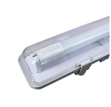 Specilights Waterdicht enkelvoudig IP65 LED TL armatuur 120 cm - Kant en klaar voor één led tl buis