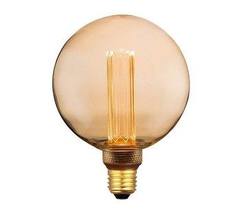 Specilights LED Kooldraadlamp E27 3-staps dimbaar - G125 Vintage - 5W Dimmen met Schakelaar en Geheugen