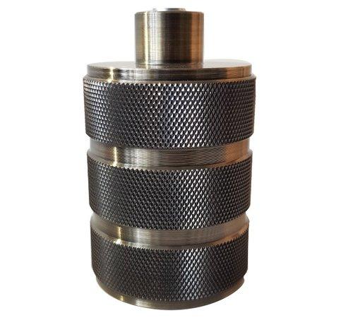 Specilights Fitting E27 Zwart 3-ringen