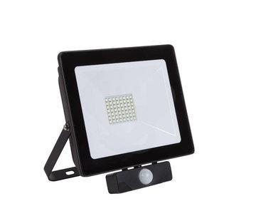Specilights 100W LED Bouwlamp met Sensor Zwart