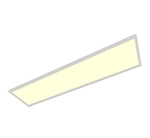 Specilights LED Paneel 120 x 30 cm 36W - Flikkervrij - 3000K Warm Wit - Vervangt 2X36 TL verlichting