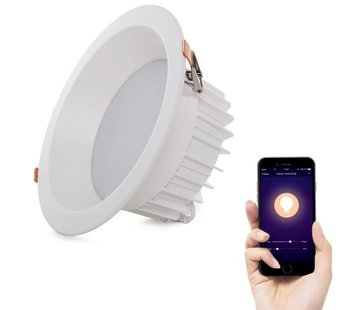 9W Smart Downlight Wifi bedienbaar 2000K - 6500K