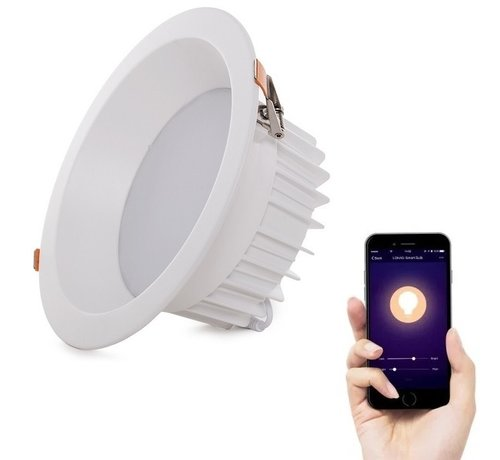 Specilights 9W Smart Downlight Wifi bedienbaar 2000K - 6500K
