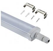 Specilights LED Batten Armatuur koppelbaar 120cm 40W 4000K/6000K Waterdicht IP65